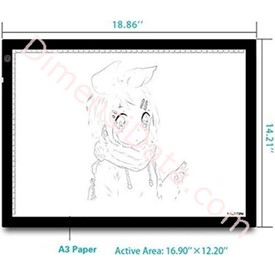 Jual Drawing Tablet Huion A3 LED Light Pad
