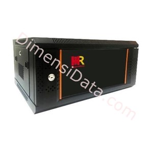 Picture of Wallmount Rack Server HAGANERACK 6U-450mm (HRW645SDG)