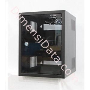 Picture of Wallmount Rack Server HAGANERACK 6U-350mm Single Door Soho Series (HRWO635SD)