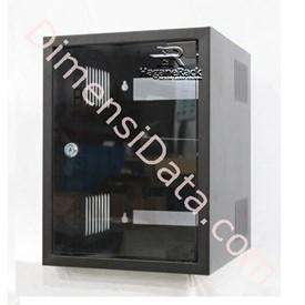 Jual Wallmount Rack Server HAGANERACK 9U-350mm Single Door Soho Series (HRWO935SD)