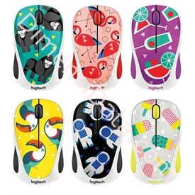 Jual Wireless Mouse Logitech M238 Party Collection