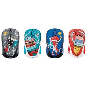 Picture of Wireless Mouse Logitech M238 Doodle Collection