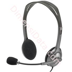 Jual Stereo Headset Logitech H111 (981-000588)