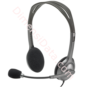 Picture of Stereo Headset Logitech H111 (981-000588)
