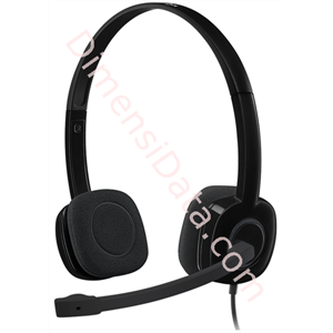 Picture of Stereo Headset Logitech H151 (981-000587) Black