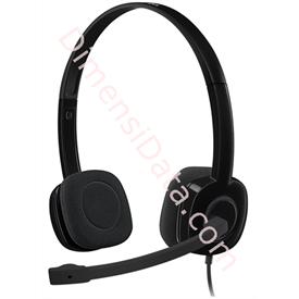Jual Stereo Headset Logitech H151 (981-000587) Black