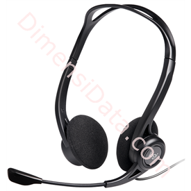 Jual Headset Computer USB Logitech H370