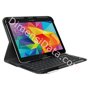 Picture of Ultrathin Keyboard Folio Logitech for Samsung Galaxy Tab 4 [920-006400]
