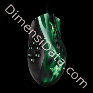 Picture of Razer Naga Hex Green/Red