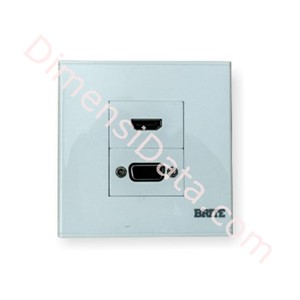 Picture of Wall Plate Power Box BRITE Faceplate FP-2