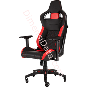 Picture of Chair Gaming CORSAIR T1 RACE 2018 [CF-9010013-WW] Black-Red