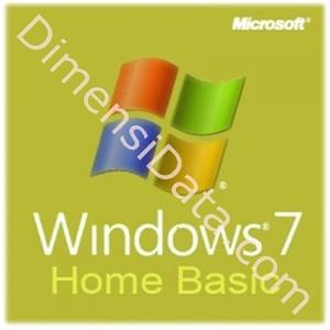 Picture of Windows 7 Home Basic SP1, 32Bit/64Bit [OEM]