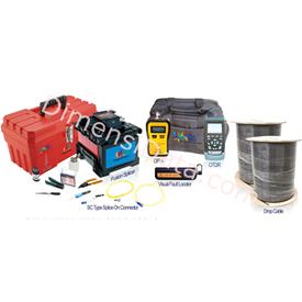 Jual Paket Peralatan Konektivitas Fiber Optic SuperFiber Kit