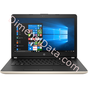 Picture of Notebook HP 14-bw505AU [3RE55PA] Gold
