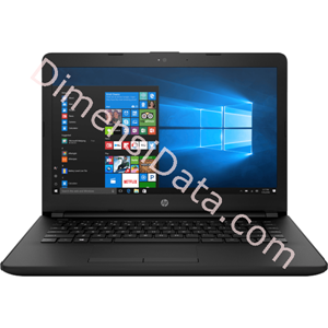 Picture of Notebook HP 14-bs089TX [3MR24PA] Black