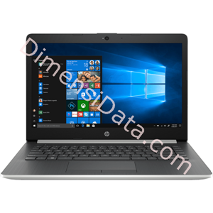 Picture of Notebook HP 14s-cf0044TX [4PC57PA] Silver