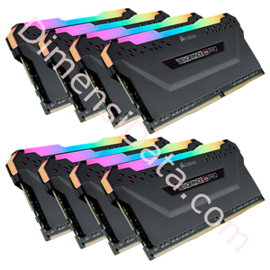 Picture of Memory Desktop CORSAIR Vengeance RGB Pro (8 x 8GB DDR4 [CMW64GX4M8Z2933C16]