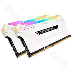 Picture of Memory Desktop CORSAIR Vengeance RGB Pro (2 x 8GB) DDR4 [CMW16GX4M2C3000C15W]