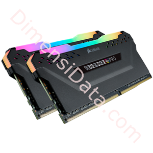 Picture of Memory Desktop CORSAIR Vengeance RGB Pro (2 x 8GB) DDR4 [CMW16GX4M2C3200C14]