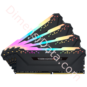 Picture of Memory Desktop CORSAIR Vengeance RGB Pro (4 x 8GB) DDR4 [CMW32GX4M4C3600C18]