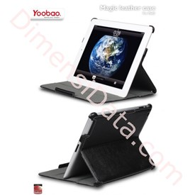 Jual Yoobao Apple iPad 2 iMagic leather case HITAM
