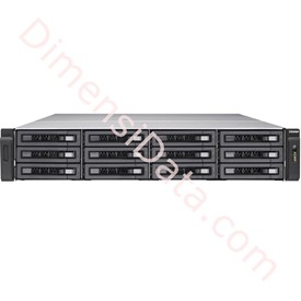 Jual Storage Server NAS QNAP TES-1885U-D1521-16GR