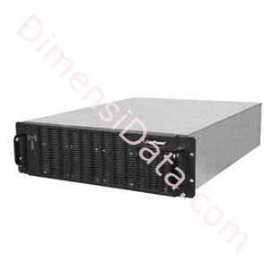 Picture of UPS CyberPower Modular 3 Phase SM20KPM