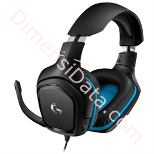 Picture of Headset Gaming Logitech G431 7.1 Surround [981-000774]