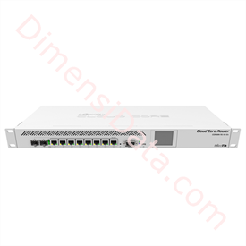 Jual Mikrotik RouterBoard CCR1009-7G-1C-1S+