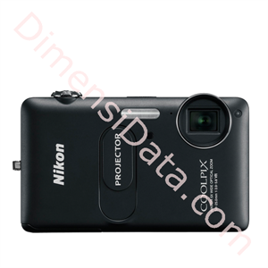 Picture of Kamera Digital Nikon COOLPIX S1200pj