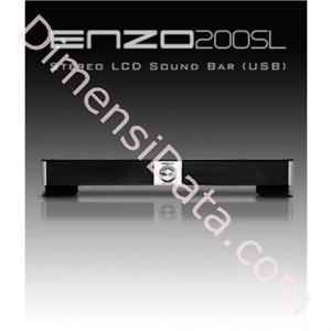 Picture of Speaker Enzo 200SL - Stereo LCD Sound Bar (USB)