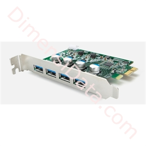 Picture of BUFFALO USB 3.0 PCI-Express Interface Board with 4 ports [IFC-PCIE4U3S]