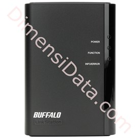 Jual Storage Server BUFFALO LinkStation Duo 2TB