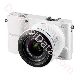 Picture of Kamera Digital Mirrorless   SAMSUNG NX1000 (Kit 20-50mm / 16mm Lens)