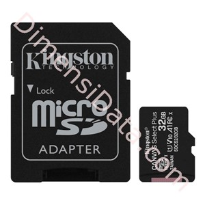 Picture of MicroSDHC Kingston 32GB Canvas Select Plus A1 Class 10 UHS-I [SDCS2/32GB]