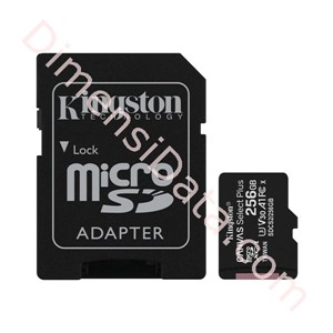 Picture of MicroSDXC Kingston 256GB Canvas Select Plus A1 Class 10 UHS-I [SDCS2/256GB]