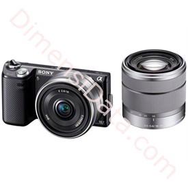 Jual Kamera Digital Mirrorless   Sony NEX-5ND (Double lens)