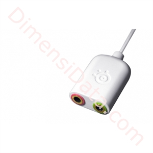 Picture of SteelSeries Iphone adapter white color