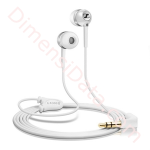 Picture of Earphone Sennheiser CX series - CX 300-II Precision White/Silver