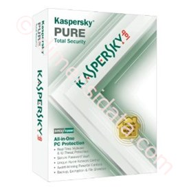 Jual Kaspersky Pure 3-User