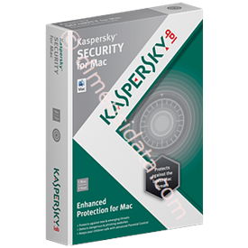 Jual Kaspersky Anti Virus for MAC 1 User