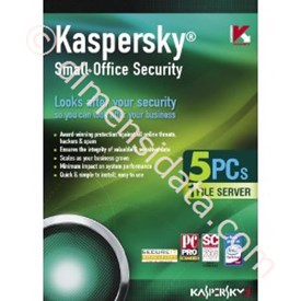 Jual Kaspersky Small Office Security 5 users + 1 File Server