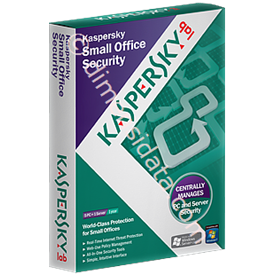 Jual KASPERSKY Small Office Security (10 CLIENT +1 SERVER)