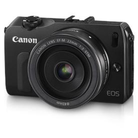 Jual Kamera  DSLR   CANON EOS M (W22 & adapter)