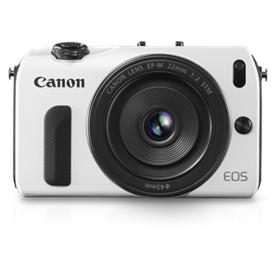 Jual Kamera  DSLR   CANON EOS M (18-55IS,22,90EX)