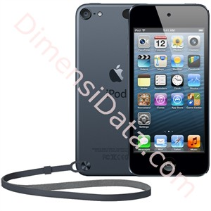 Picture of APPLE iPod touch 32GB 5 Gen [MD723ID/A] - Black Slate