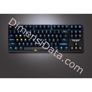 Picture of Armaggeddon Black Hornet MKA-3 Keyboard