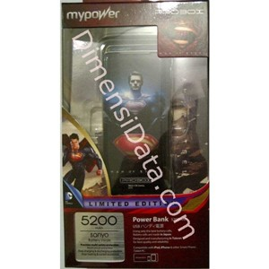 Picture of Powerbank PROBOX  5200 mAh - Man Of Steel Limited Edition