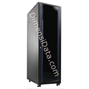 Picture of Rack Server INDORACK 42U Glass Door [IR9042G]
