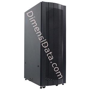 Picture of Rack Server INDORACK Standing Heavy Duty 20U Perforated Door PRO9020